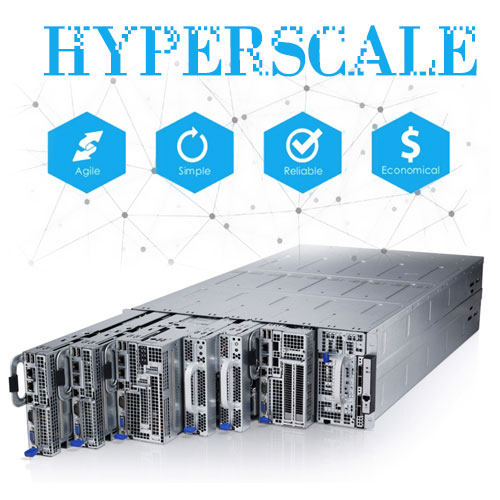 hyperscale- تک دیتا