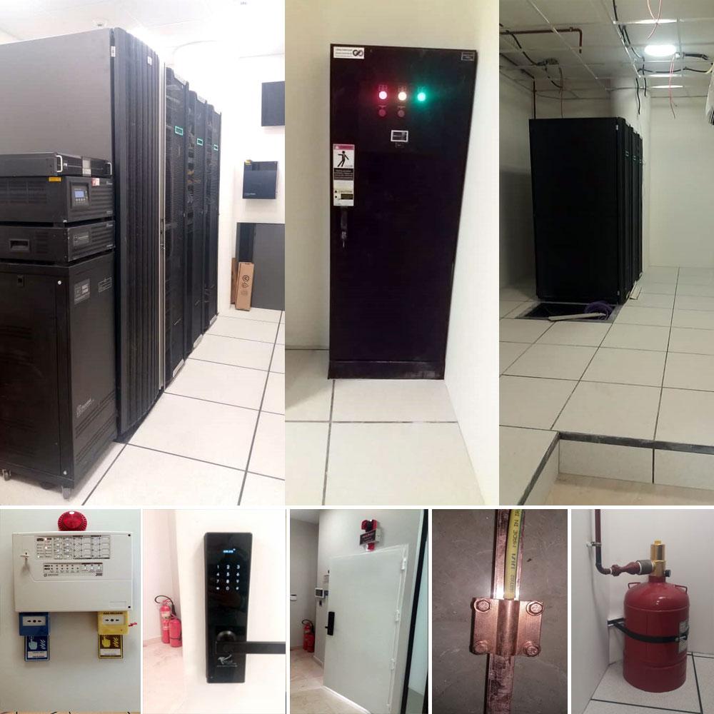 طراحی و اجرای پروژه اتاق سرور پتروشیمی مهر